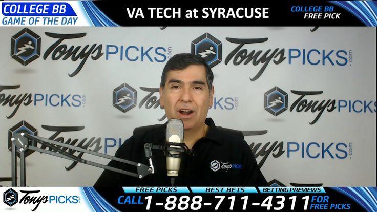Virginia Tech Hokies vs. Syracuse Orange Free NCAA Basketball Picks and ...