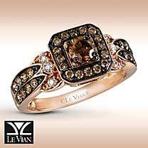 Le Vian Chocolate Diamonds® 14K Gold ¾ Carat t.w. Ring