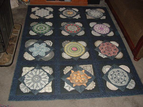 Vintage Doily Quilt - Nanna Shroyer: Room Zaar