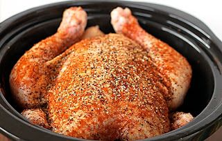 Be A Pot Stirrer: Slow Cooker Spiced Chicken