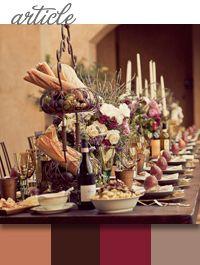 Wedding Events Centerpiece Flowers Tuscan