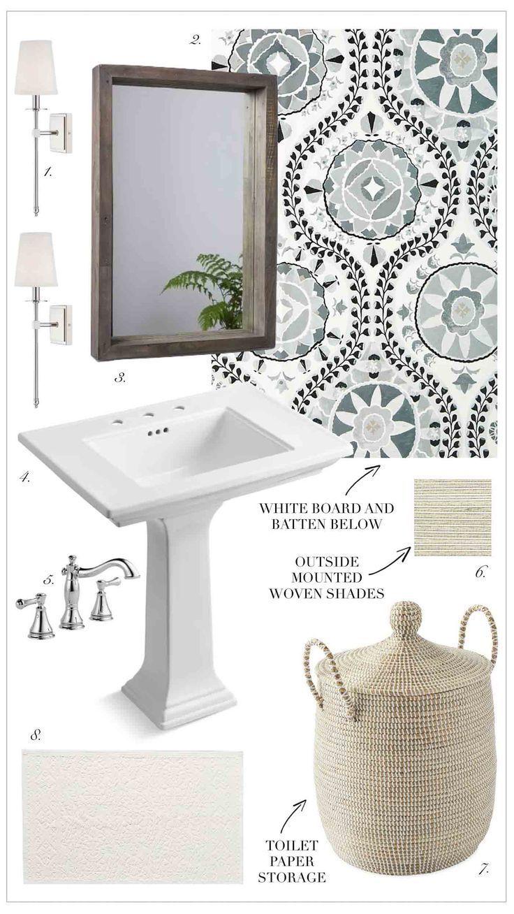 Small Half Bath Powder Room Design Inspiration With Pedestal Sink Powderroom Halfbath Powerroomdesig Powder Room Small Small Half Baths Small Half Bathrooms