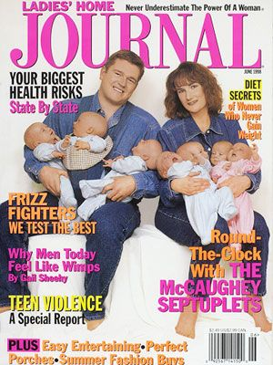 I was obsessed with family as a youngster. I always bought the magazines when they were on the cover!