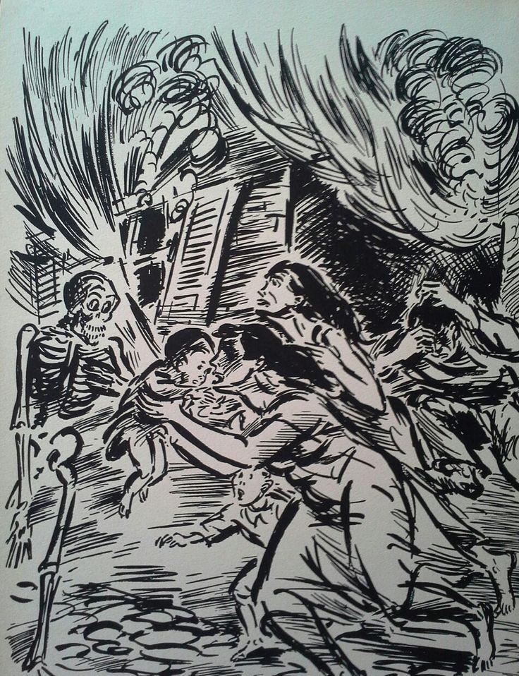 Frans Masereel (1889-1972) Fametszet, Mihály Gyűjtemény