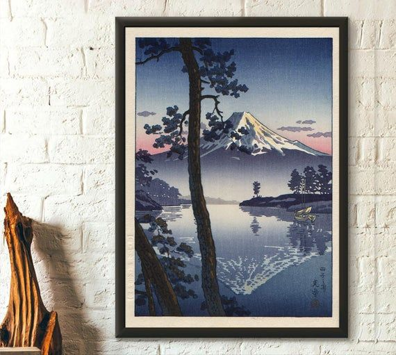 Japanese Woman With Shamisen Japan 19th Century Framed Art Print By Rtsm Redbubble Japanese Women Framed Art Prints Framed Prints