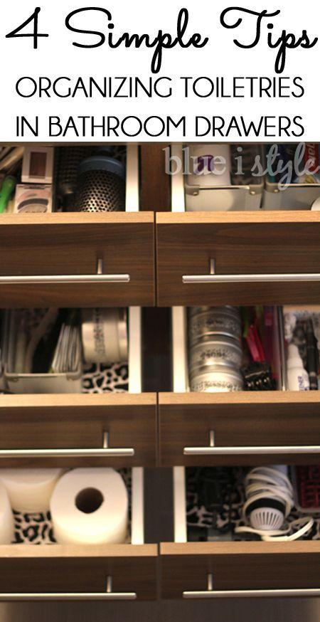 Best 25 Bathroom Drawer Organization Ideas On Pinterest Organizing Cleaning Supplies