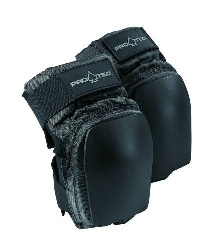 Pro-Tec Park Skate Knee Pads (Black, Large) by Pro-Tec. $21.95. Amazon.com                Designed with a slim cut and low-profile, Pro-Tec's Park Skate Knee Pads are ideal to wear under your clothes while also providing necessary protection. Push-flex technology gives you the freedom of movement you've always wanted and needed in an effective and comfortable knee pad. High-grade fabrics, knee cup interior foam, and replaceable full coverage caps make these pads a kille...
