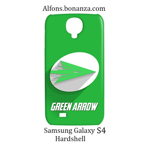 Green Arrow Logo Superhero Samsung Galaxy S4 S IV Hardshell Case