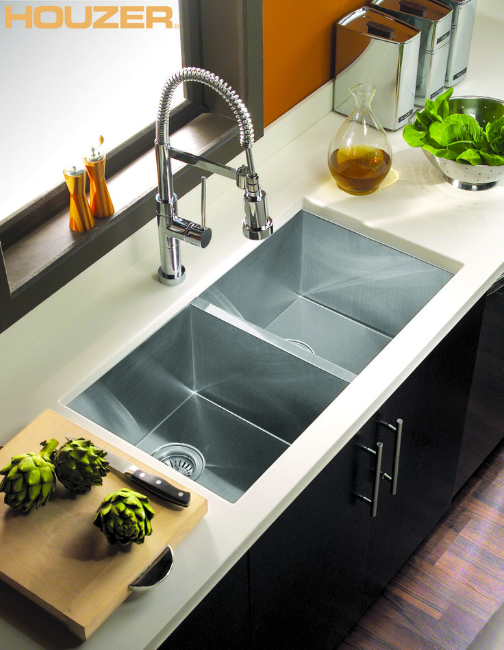 16 best Houzer Sink images on Pinterest | Stainless steel sinks ...