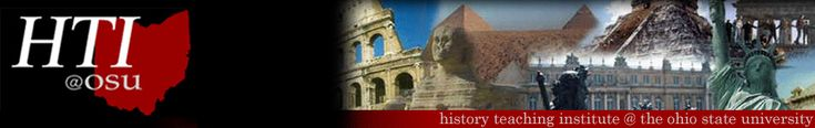 History Teaching Institute. Primary Source lessons on Sci Rev, Fr Rev, Ind Rev, WWI, Holocaust