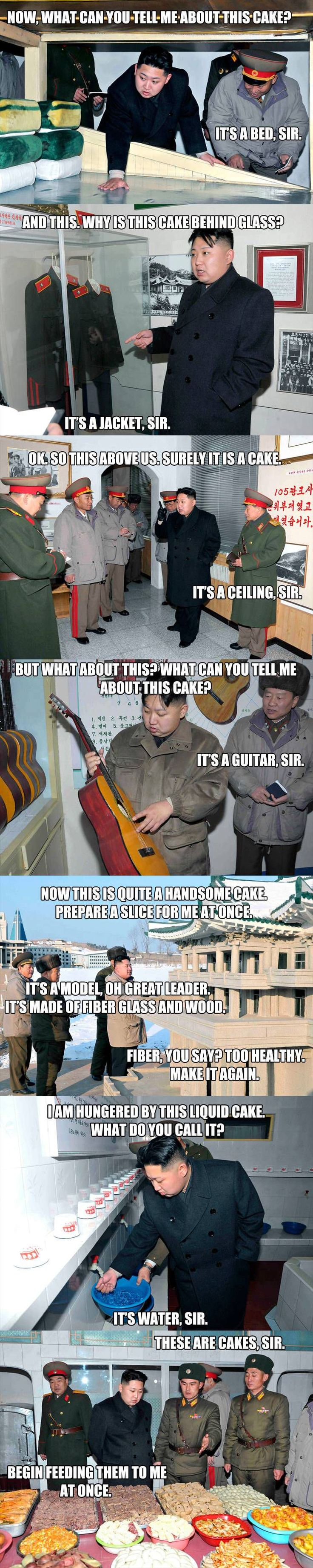 For Kim, all days are cake days