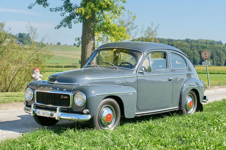 Volvo PV544 30.8.2015 2821 | Volvo Sweden  Classic Cars in Bleienbach Schweiz / Switzerland