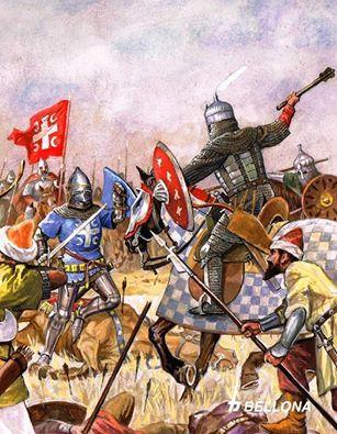 Battle of Kosovo 28. june 1389.Serbia vs Islam