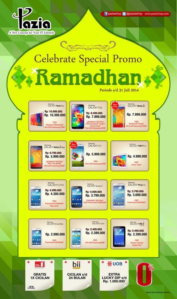 Pazia: Celebrate Special Promo Ramadhan @PaziaShop