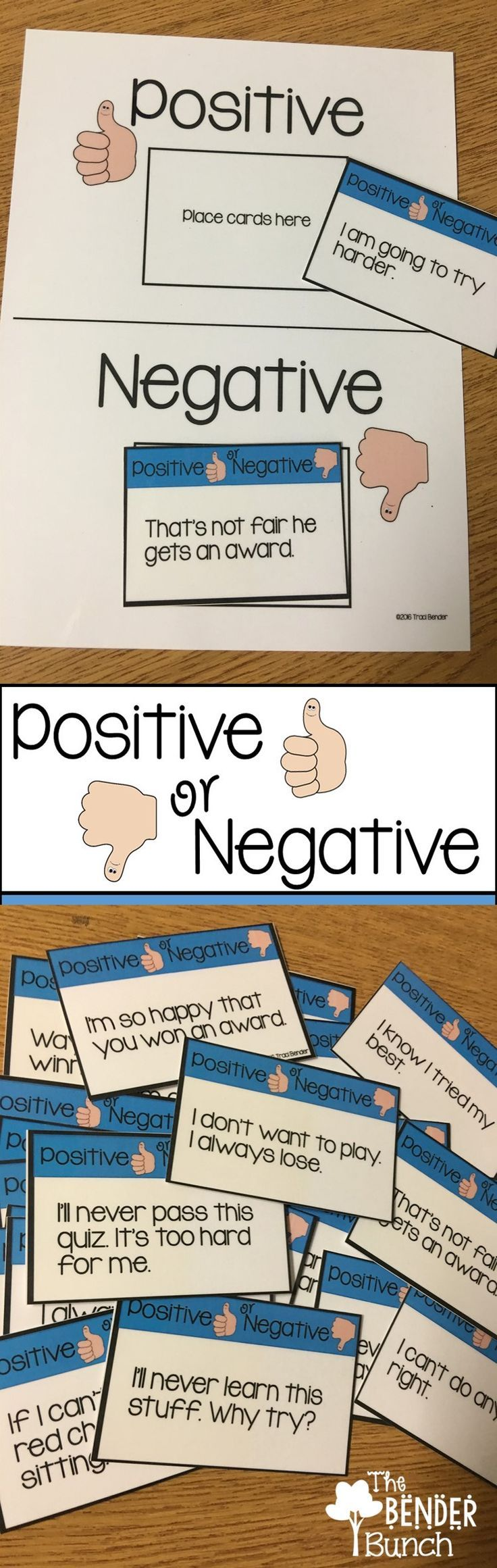 Teaching positive versus negative behavioral skills.
