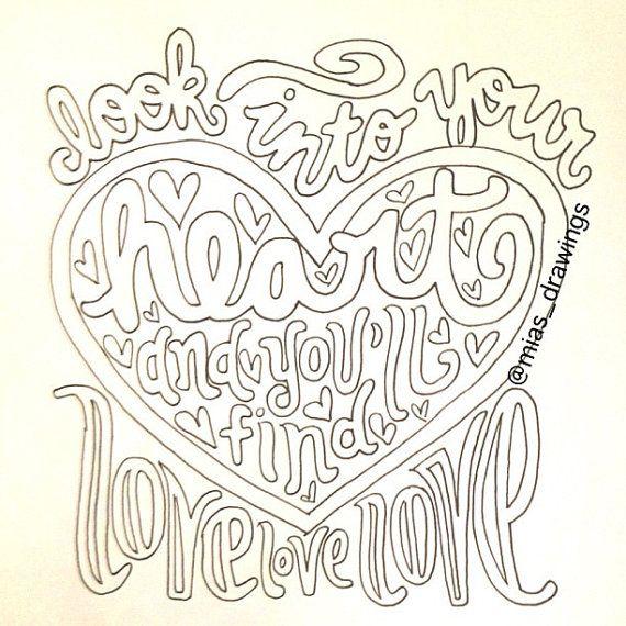 I'm Yours Jason Mraz lyric art by Miasdrawings on Etsy, $5.00 LOVE LOVE LOVEEE