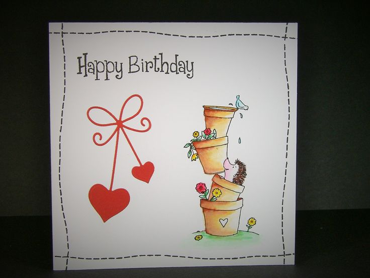 Designed by Allison Hugill using Little Claire Lovely Hedgehogs stamp set
