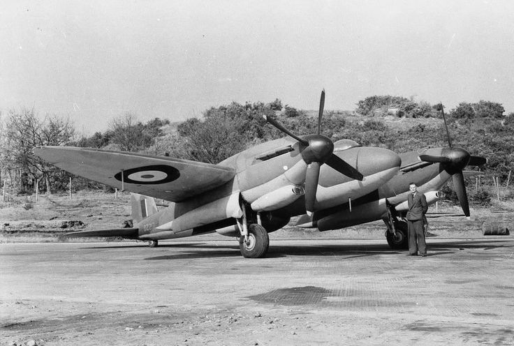 Vickers 432 The 'tin' Mosquito a pressurised high-altitude fighter aircraft