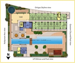 SM Residences | Units and Floor Plans - site map
