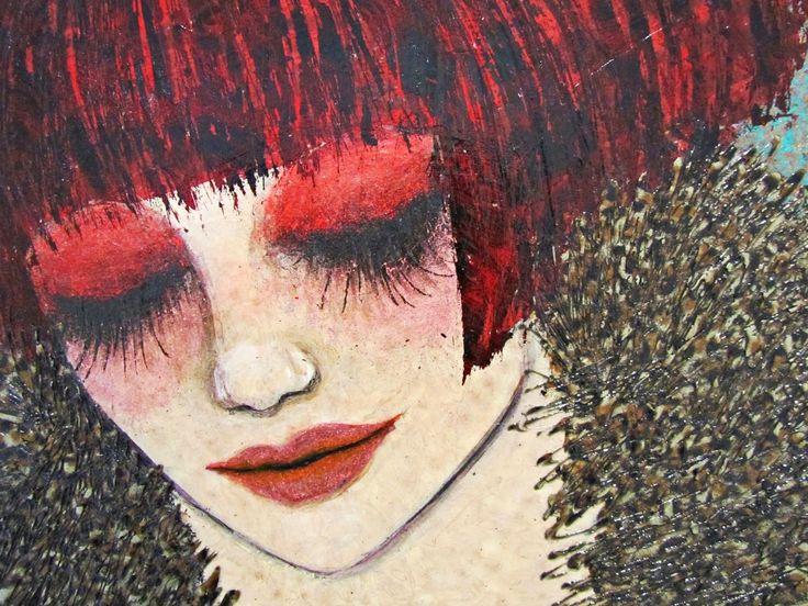 Ne kadar sıradışı bir ressam olduğunu biliyor musunuz? Şüpheli bir bakış, Rimeli akmış bir göz, Meraklı bekleyiş, Biraz mavi...