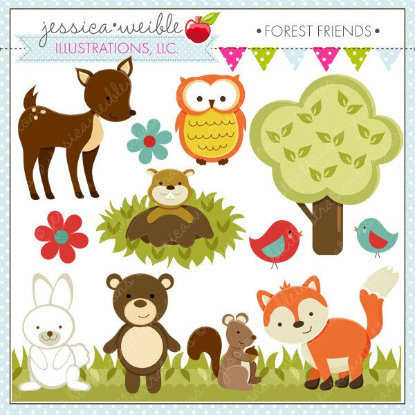181903272425896242 on Woodland Sheerwood Forest Animals Clip