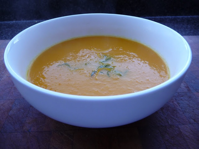 Carrot and Orange Soup. | My Own Recipes | Pinterest