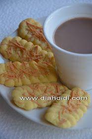 Diah Didi's Kitchen: Resep Lidah Kucing Mudah dan Ekonomis..Satu Resep Bisa Dua Rasa..Coklat dan Keju