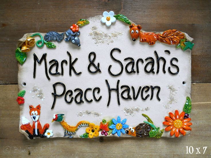 The 25 best House name plaques ideas on Pinterest House names