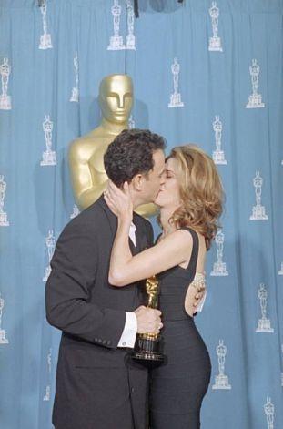Tom Hanks, ganador por segundo año consecutivo, y Rita Wilson