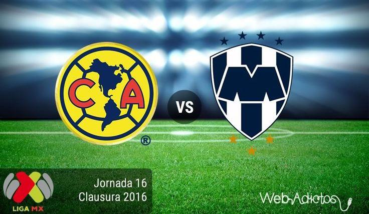 América vs Monterrey ¡En vivo por internet! | Jornada 16 del Clausura 2016 - https://webadictos.com/2016/04/30/america-vs-monterrey-j16-clausura-2016/?utm_source=PN&utm_medium=Pinterest&utm_campaign=PN%2Bposts