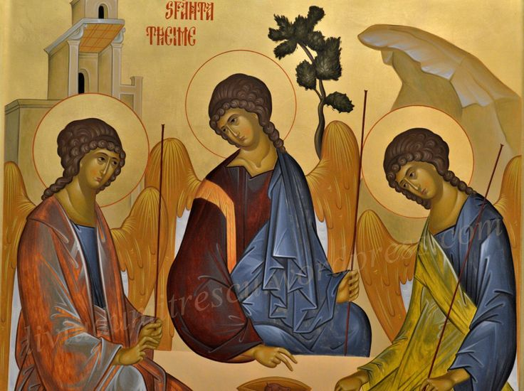 Icon of the Holy Trinity