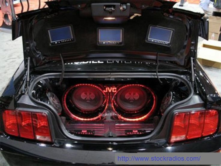 Affordable car audio system.