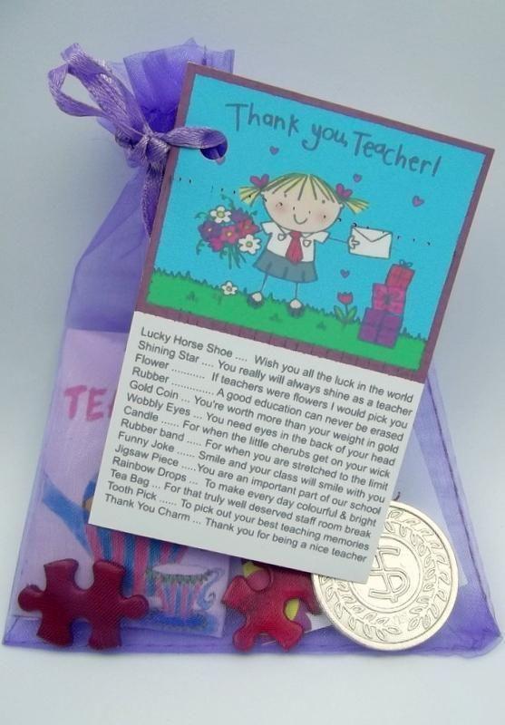 Teacher Survival Kit Great Christmas Present Fun Novelty Gift Card Thank You | eBay