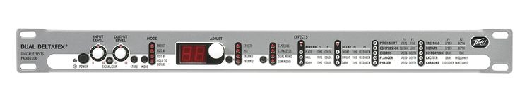 Peavey Dual DeltaFex Stereo Effects Processor