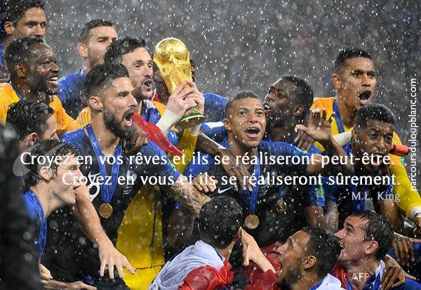 La Confiance En Soi Indispensable Au Succes Fabrique De Champions Coupe Du Monde Equipe De France Coupe Du Monde 2018