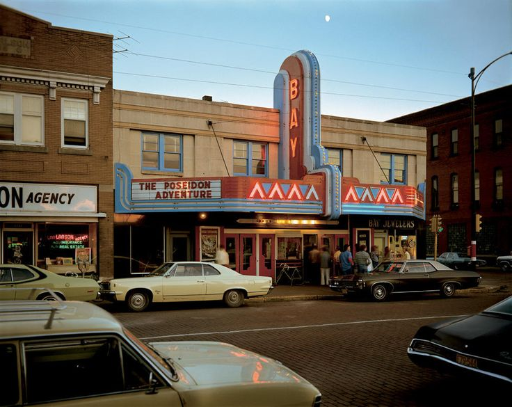 Stephen Shore - Second Street, Ashland, Wisconsin, July 9, 1973  © Stephen Shore  Courtesy Aperture Foundation