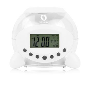 ~ Promotional Transparent Alarm Clock in New Zealand . ~ For more connect http://indent.seeit.co.nz/clocks-watches-c-4.html