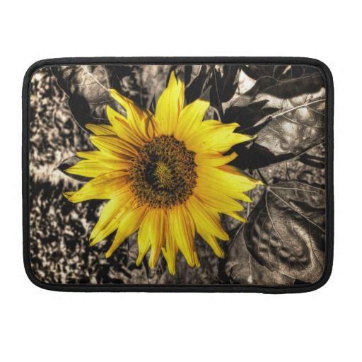 Sunflower MacBook Pro Sleeve