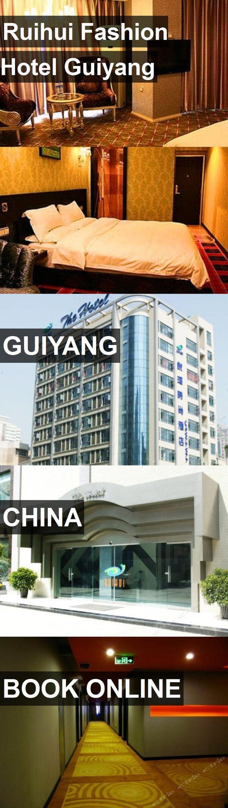 Hotel Ruihui Fashion Hotel Guiyang in Guiyang, China. For more information, photos, reviews and best prices please follow the link. #China #Guiyang #hotel #travel #vacation