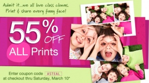 Yahoo! Here is yet another great photo deal for you (in addition to the *HOT* Snapfish offer where you can snag 100 Photo Prints for just $5 shipped)! Through March 10th, head on over to Walgreens Photo where you can snag 100 4×6 Photo Prints for just $5.40 (+ tax) shipped right to your door! [...]