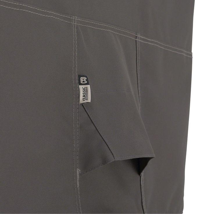 Classic Accessories Ravenna® Patio Umbrella Cover, Grey (Polyester) #55-159-015101-EC, Patio Furniture