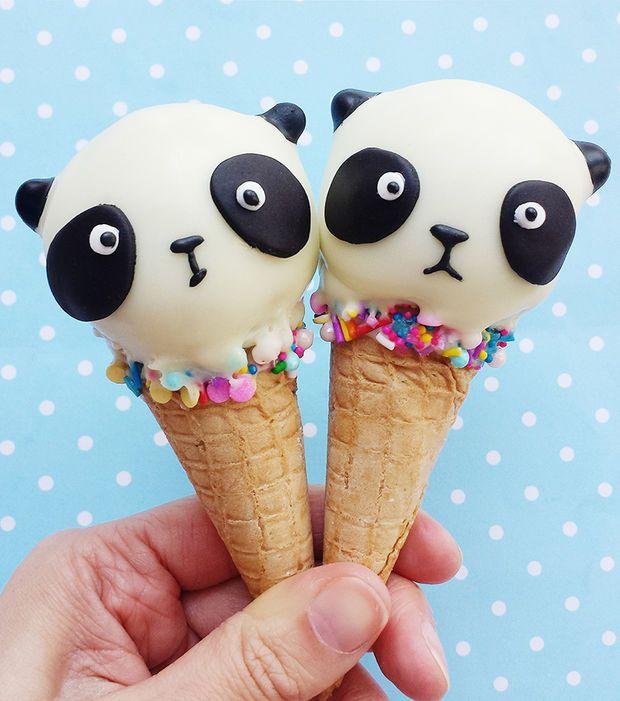 Kawaii Food - Vickie Liu et ses cônes panda