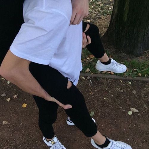 Imagen de couple, boy, and adidas