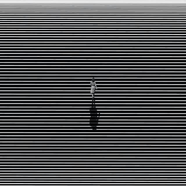The minimalist artwork by Dhavebaj Anupabsthian