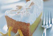 Everyone loves lemon meringue pie: the marshmallow-like topping is a ...