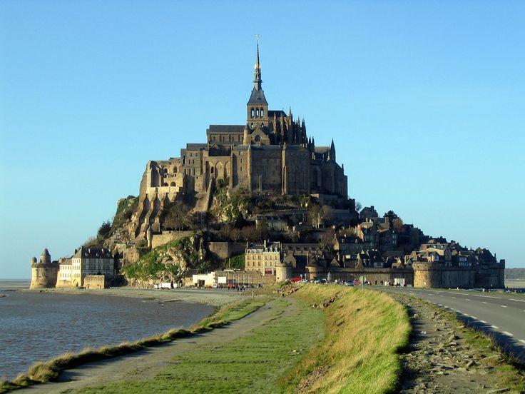 Mont San-Michel, Normandy France.