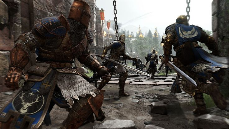 For Honor {Live PS4} campaign chapter 1 [1.1, 1.2 & 1.3