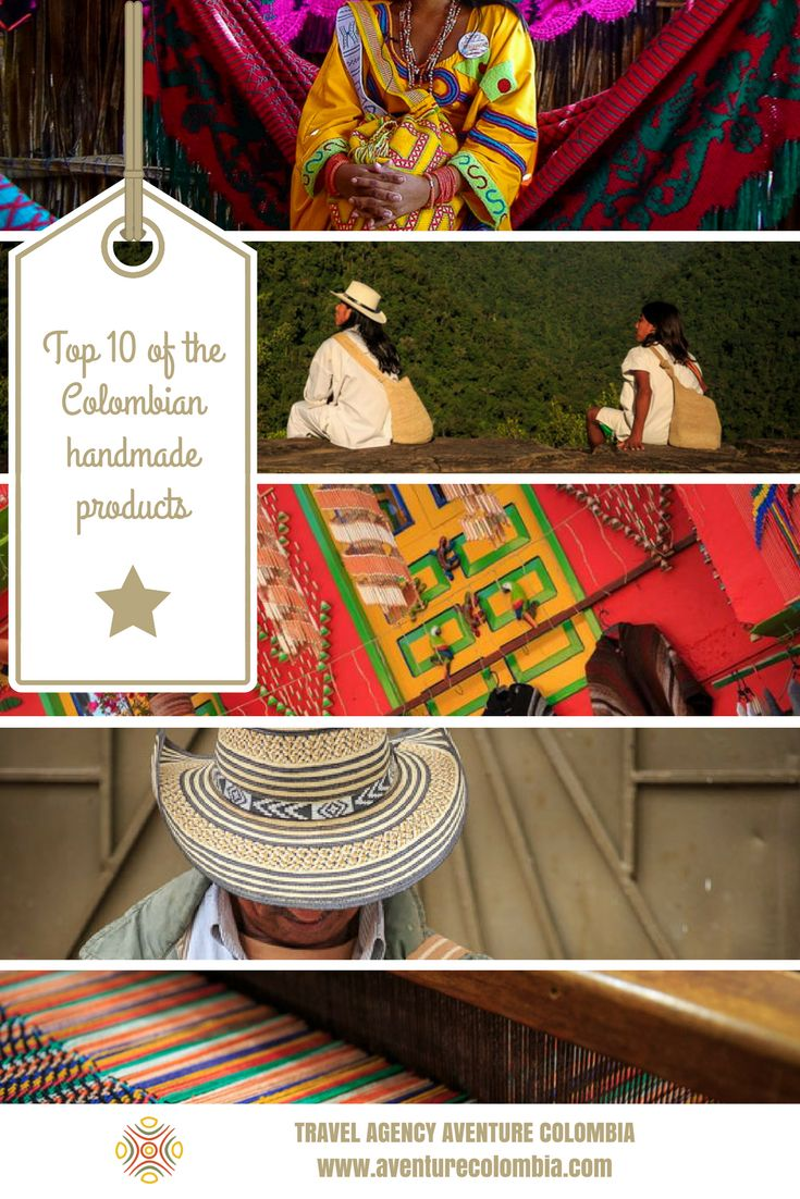#Colombia is home of a large number of native communities still living with their old traditions. #Handicraft is an integral part of the country's history but also of its intangible heritage.