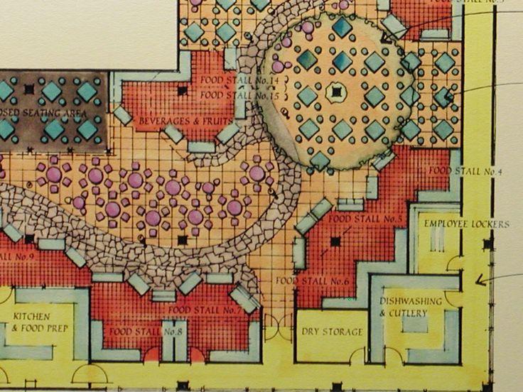 Food Court Design Concept Google Search