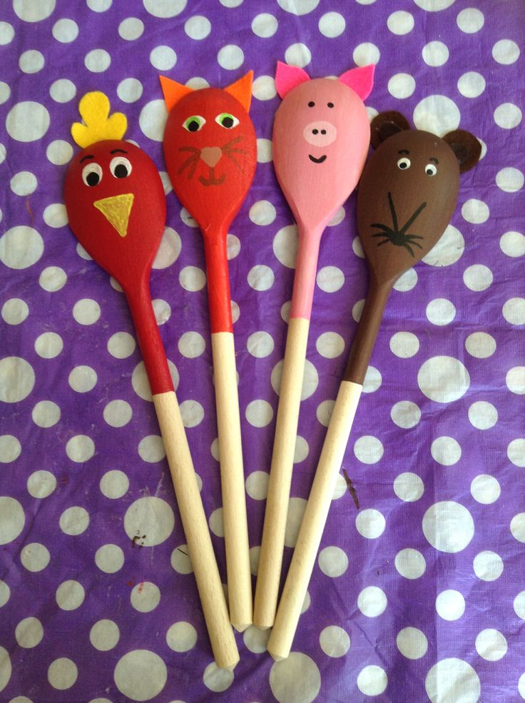 Story Spoons: The Little Red Hen